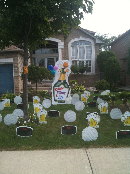 Party Lawn Decorations