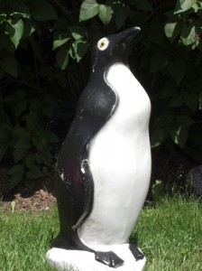 CIMG3135 224x300 Penguin Lawn Ornament
